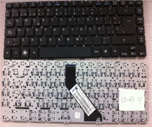 MP-11f76e0-4424 Notebook Keyboard for Acer V5-471 V5-431 Spanish Laptop Keyboard
