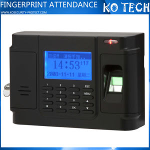 TCP/IP Fingerprint Time Attendance Recorder Optional Backup Battery Ko-M13