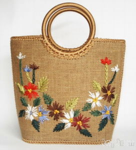 Handmade Embroidery Hand Bag
