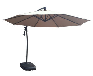 Hight Quality Hot Sale Aluminium Banana Umbrella for Outdoors (JB818)