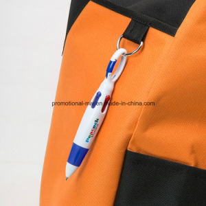 Multiple Colored Promotional Pens with Hook Function pictures & photos