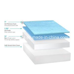 China 14 Inch Bedroom Furniture Cool Gel Memory Foam Mattress