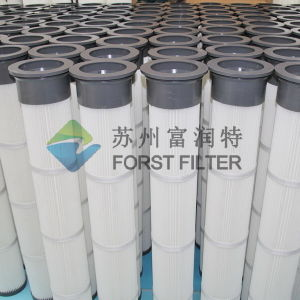 Forst Cement Silo Top Air Pleated Filter Cartridge pictures & photos