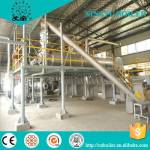 Hot Sale Continuous Waste Tyre Pyrolysis Plant by China Supplier pictures & photos