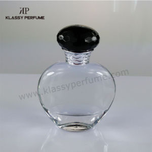 Latest Design Glass Perfume Bottle with Apple Shape