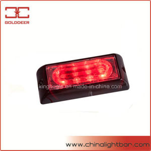 Linear 4W Grille Light LED Warning Light (SL6201-S Red) pictures & photos