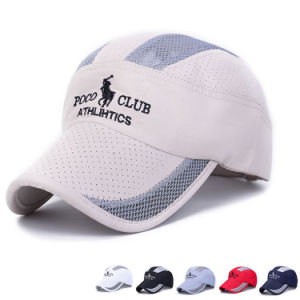 Fast Dry Promotional Mesh Sport Baseball Golf Polo Cap (YKY3100) pictures & photos