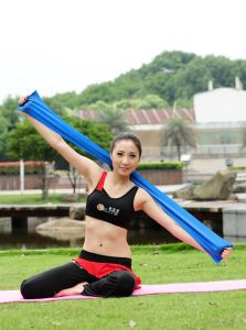 New Design Latex Workout Resistance Strap Yoga Sport Products pictures & photos