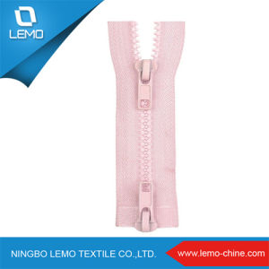 Customer China Sales Yyk Plastic Zipper pictures & photos