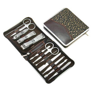 High Quality Stainless Steel 12PCS Beauty Manicure Set pictures & photos