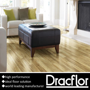 Competitive Price Wood Pattern PVC Flooring Tile (P-7062) pictures & photos