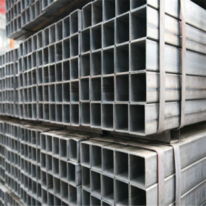 Scaffolding Building Material Hot-DIP Galvanized Square Steel Pipe pictures & photos