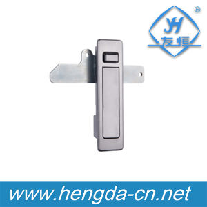 Yh9566 Chrome Plated Metal Plane Lock for Electric Cabinet pictures & photos