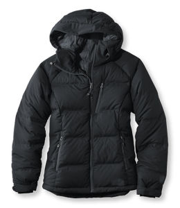 Women High Quality Black Colour Hooded Down Jacket pictures & photos