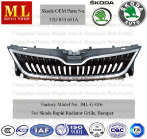 Grille for Skoda Rapid Car From 2012 (32D 953 651A) (ML-G-016) pictures & photos