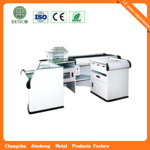 Store New Design Stainless Checkout Counter pictures & photos