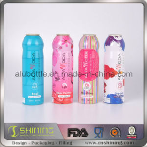 Aluminium Empty Aerosol Packing Cans for Personal Care Bottle