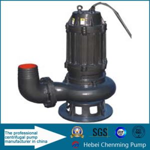 Non Clog Solid Waster Water Transfer Pump with Agitator