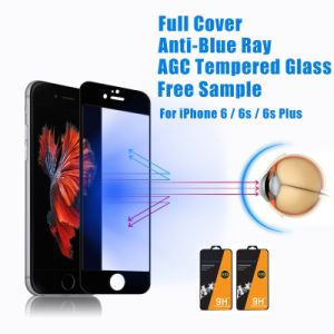 64a566a02cb China Anti-Blue Light 9h Tempered Glass Screen Protector for iPhone ...