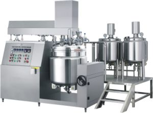 GMP Standard Vacuum Homogenizer Mixer pictures & photos