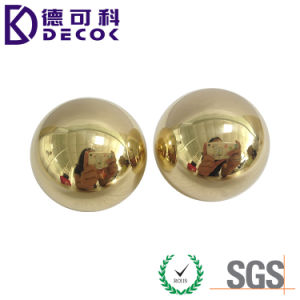 Small Size 35mm 55mm Brass Hollow Steel Ball for Handrail Decoration pictures & photos