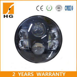 7′′ Headlight with High/ Low Beam Jeep Headlamp Hg-838A