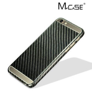 2016 Trending Real Carbon Fiber Cell Phone Case for Apple iPhone 6 6s