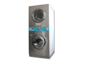 Coin Operated Stack Washer and Dryer Machine Price Used for Self Service Laundry Shop pictures & photos