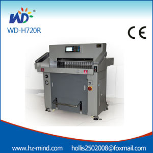 China Professional Manufacturer 720mm Hydraulic Paper Cutter pictures & photos
