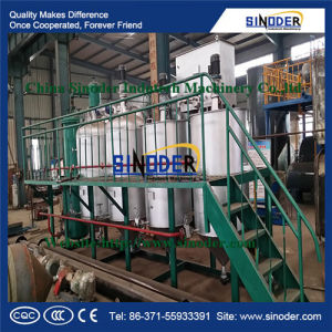 Cooking Oil Processing Machine, Crude Cooking Oil Refinery Machine, Small Scale Edible Oil Refining Machine pictures & photos
