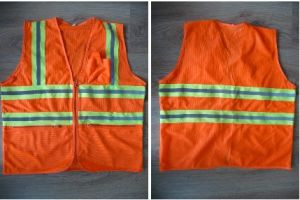 New Fashion Reflective Safety Clothing with Warning Tape pictures & photos