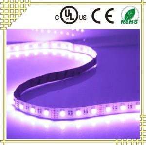 RGB+W Flexible LED Strip with UL Ce RoHS Certificates