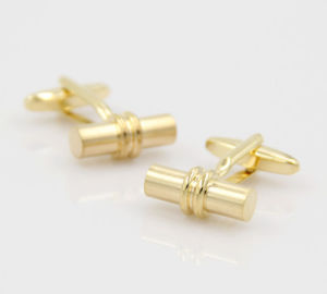 VAGULA Newly Gold Brass Shirt Cuffs (HLK35121) pictures & photos