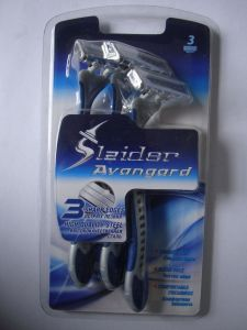Asr Sensor Triple Blade Disposable Razor (KD-B3008L of 3PCS For men) pictures & photos