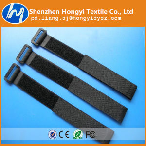 China Adjustable Hook and Loop Magic Tape Cable Tie Wire Strap ...