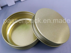 60g Cosmetic Aluminum Jar with Sand Blasted Surface (PPC-ATC-009) pictures & photos