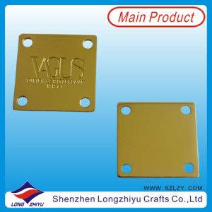 Metal Custom Gold Casting Emblems, Cheap Waterproof Emblems pictures & photos