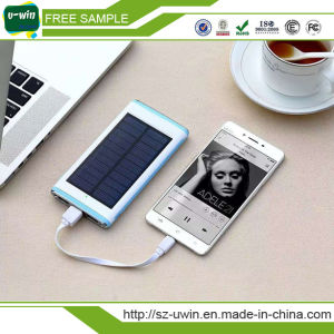 OEM Customized Wholesale 10000mAh Solar Charger Power Bank
