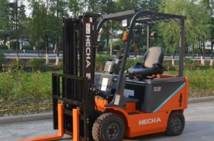 on Sale 1 Ton Electric Forklift Truck with Battery (CPD10) pictures & photos