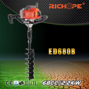 Portable Pertol Engine Earth Drill (ED680B) pictures & photos