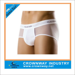 Mens Transparent Silk Gay Men Underwear Jockey Underwear pictures & photos