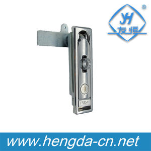 Yh9579 Zinc Alloy Metal Plane Lock for Electric Cabinet with Key pictures & photos