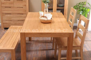 Solid Wooden Dining Table Living Room Furniture (M-X2905) pictures & photos