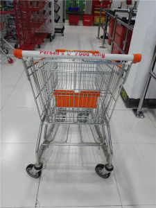 American Metal Store Supermarket Shopping Trolley Cart pictures & photos