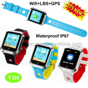 Waterproof Adult Safety GPS Tracker Watch with Heart Rate Monitor Y3h pictures & photos