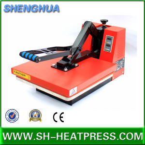 Manual Heat Transfer Press Machine Flat Sublimation Press Machine pictures & photos