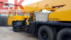 Used Original Kato Japanese Hydraulic 20ton Mobile Crane Truck (NK200E) pictures & photos
