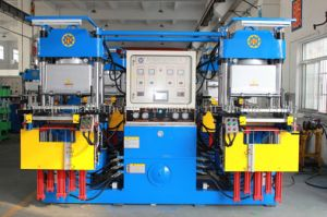 Vacuum Rubber Silicone Moulding Hydraulic Press Machine Made in China pictures & photos
