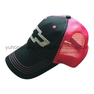 Customized Mesh Sports Baseball Cap, Snapback Trucker Hat