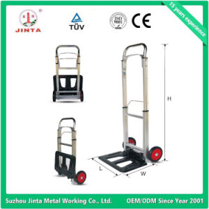 Top Quality CE Approved Aluminum Baggage Hand Cart pictures & photos